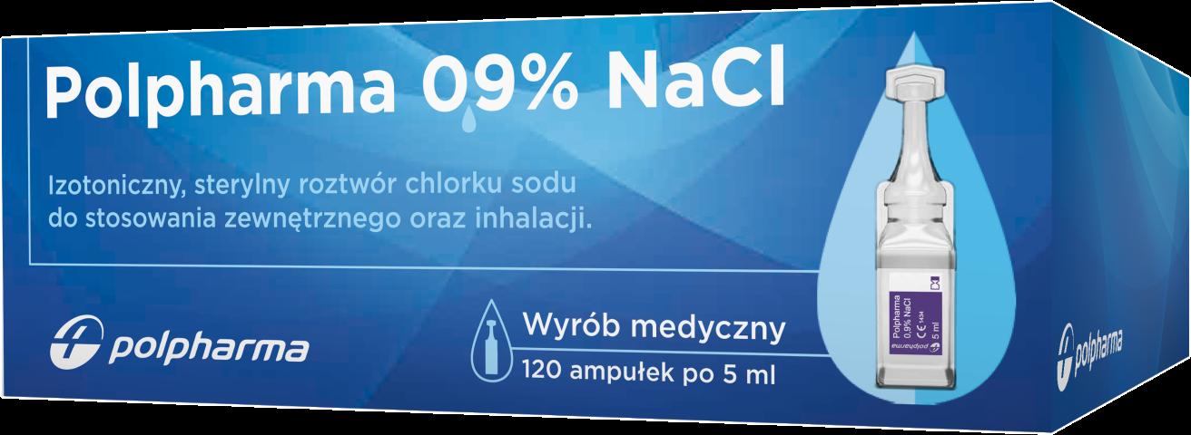 Polpharma 0,9% NaCl 5 ml x 120 amp.