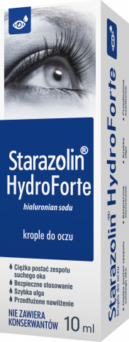 Starazolin HydroForte krople do oczu 10 ml ECO