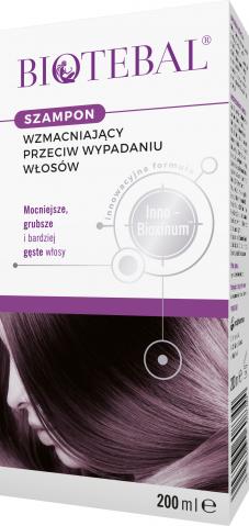 Biotebal Szampon przeciw wypadaniu włosów 200 ml