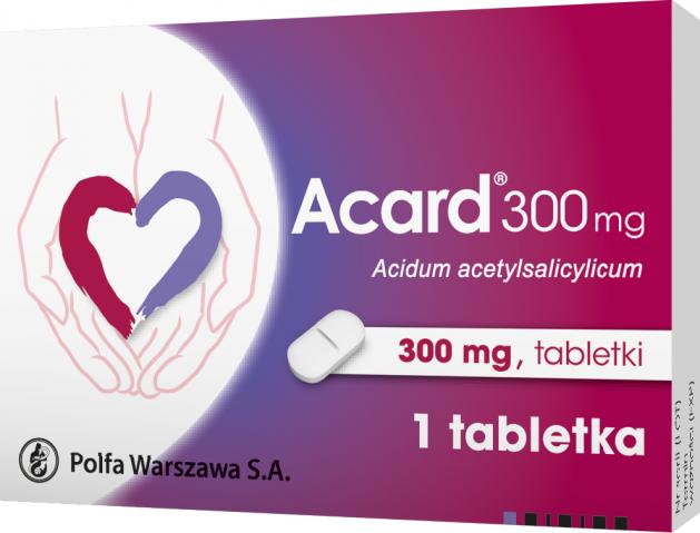 Acard 300 mg x 1 tabl.