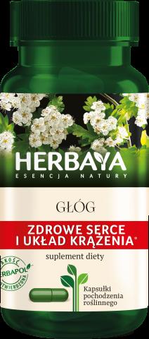 Herbaya Głóg zdrowe serce x 60 kaps.