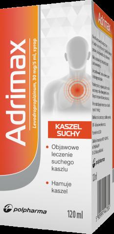 Adrimax syrop 120 ml