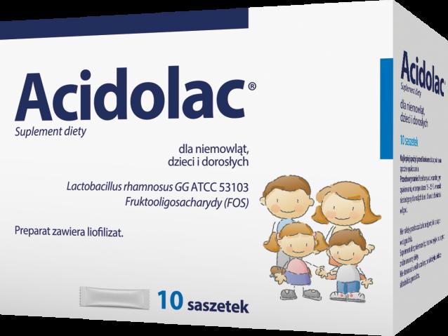 Acidolac LGG liof. doustny 3 g x 10 saszetek